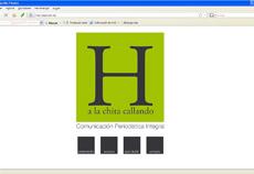 WebSite Corporativa Agencia de Comunicación, diseñada y programada en HtmL y  Css