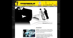 Website Bilingüe Empresa Seguridad Internacional, diseñada y programada en HtmL, Css y Flash CS
